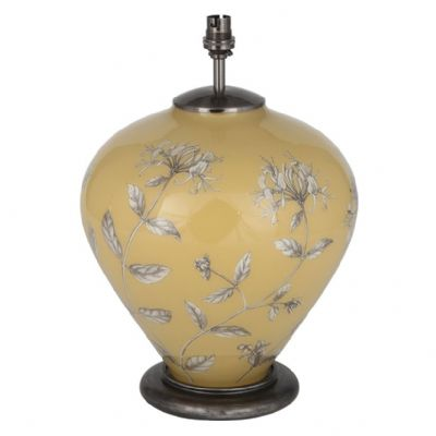 Jenny Worrall Honeysuckle Yellow Glass Lamp - PACIFIC LIFESTYLE JW53